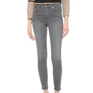 Madewell Skinny Skinny Grey Jean
